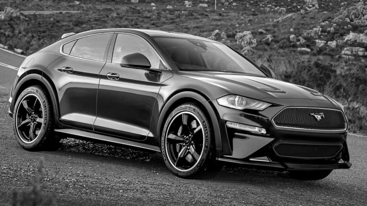 Great Ford S Mustang Inspired Electric Suv Should Look A Lot Like This 21 About Redesign Auto Design And Manufacturing Wi Concept Car Design Mustang