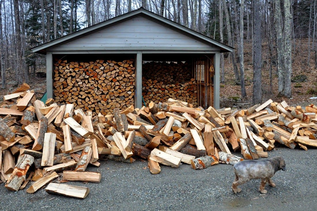 The Art Of Woodstacking Another Rite Of Spring Vermont Woodpile Thegoodlife Photo Journal Nature Custom Furniture