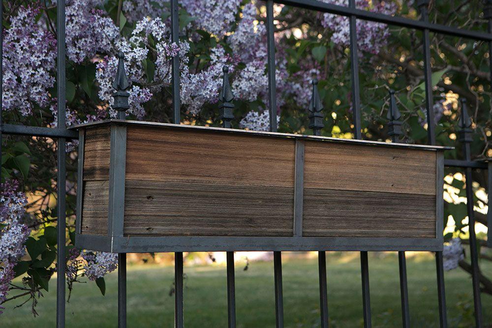 Ideas For Deck Railing Planters Containers Deck Railing Planters