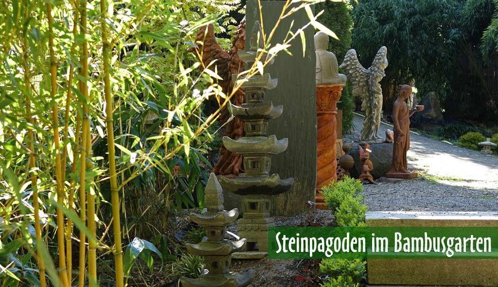 Asiatische Steinlampe Steinfiguren Pinterest Garten and Haus - brunnen garten stein