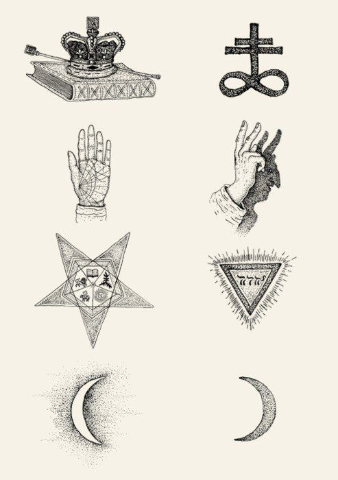 Symbol Symbols Occult Occultsymbol Illustration My Dream