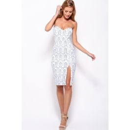 Burning So Bright Dress White