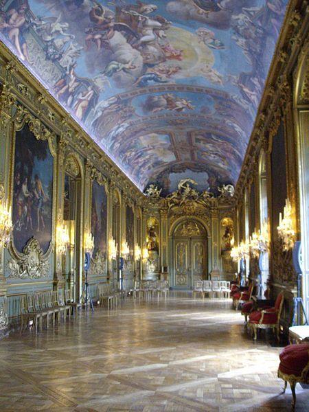 The galerie dorée of the Hôtel de Toulouse, headquarters of the Banque de France in Paris.