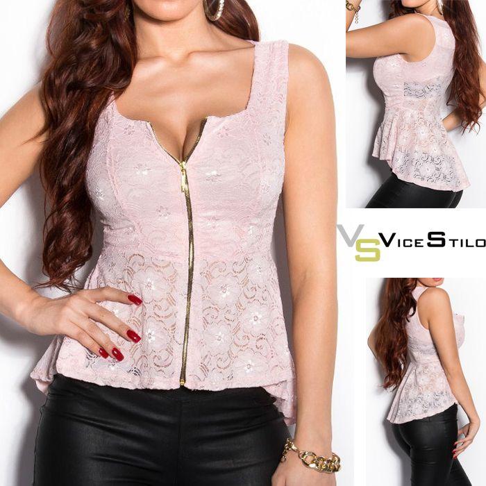 Para comenzar la semana...un top que te encantará!! http://www.vicestilo.com/mujer/camisetas-y-tops/top-diana