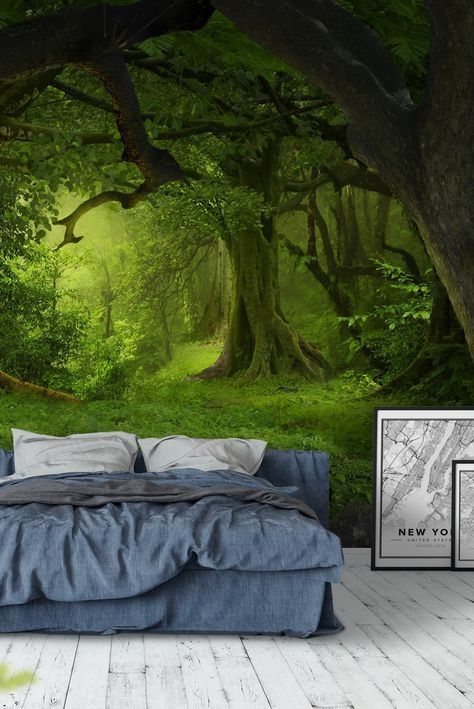 Jungle southeast asia Wall mural in 2020 Forest