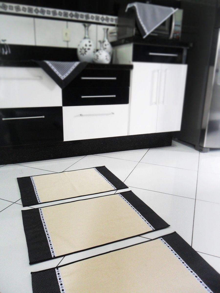 Tapetinhos E Cortina Preto E Branco Pinterest Cozinhas Pretas