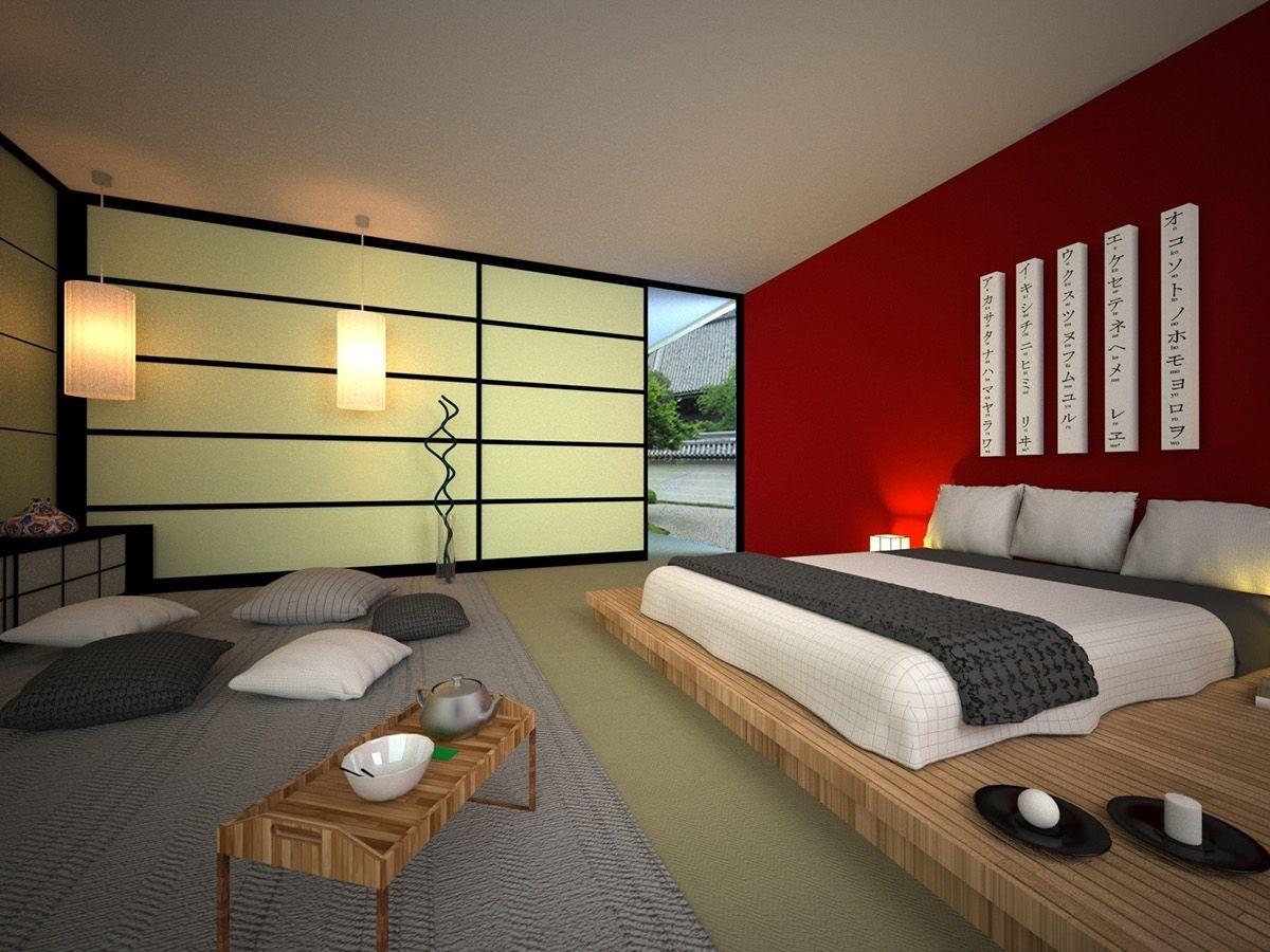 Japanese bedroom decor ideas - Japanese Small Bedroom Design Ideas