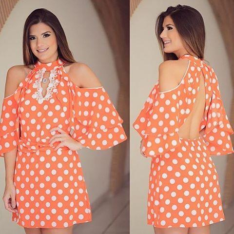 Vestido lindo !!!!! Decote das costas arrasador 😱😱😱 Escolha da linda @arianecanovas  #itgirl #look #lookdodia #vemserunicas #loveit #fashion #summer