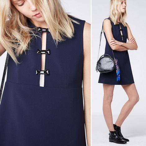 2015 Collection Pré Automne Girly Claudie Pierlot UOqwBFxAA