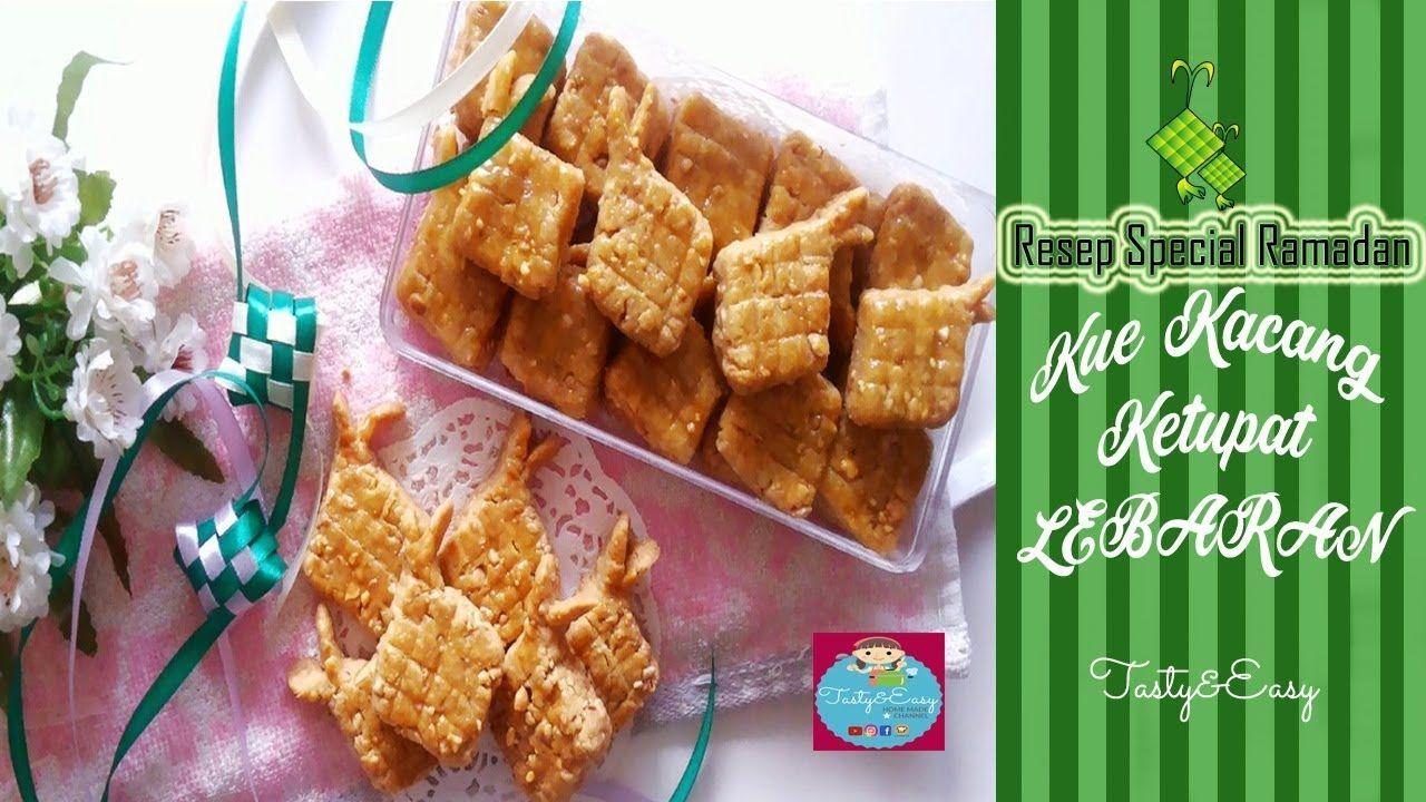 Resep Kue Kacang Tanah Spesial Bentuk Ketupat Untuk Lebaran
