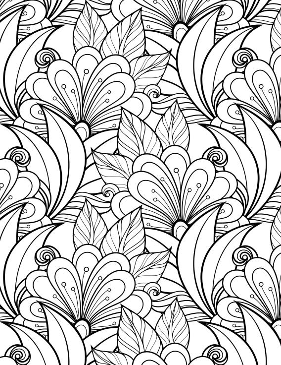 Libros de Colorear para Adultos | Colorear, Mandalas y Diseño dibujo ...