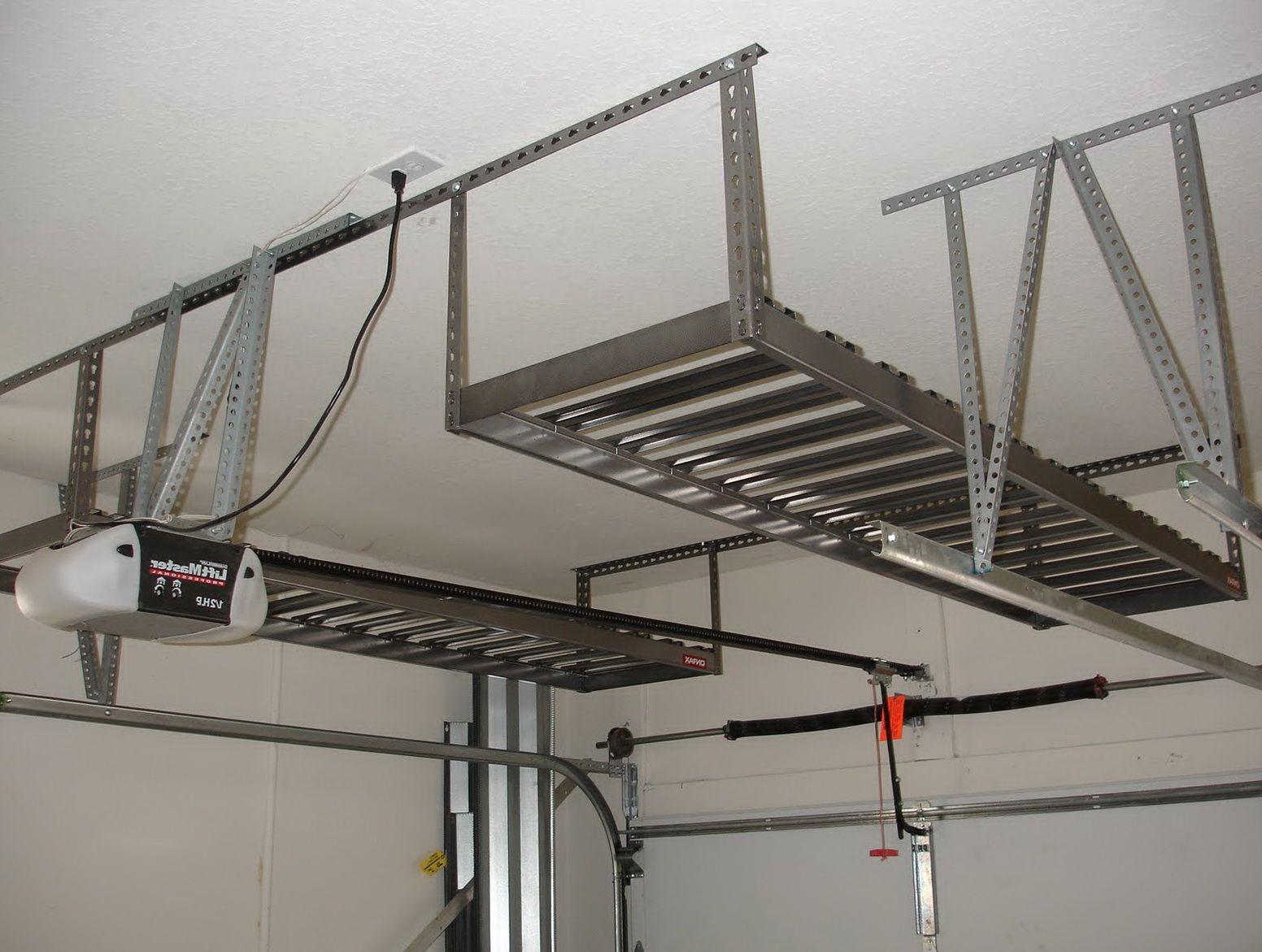 Garage ceiling storage ideas and
