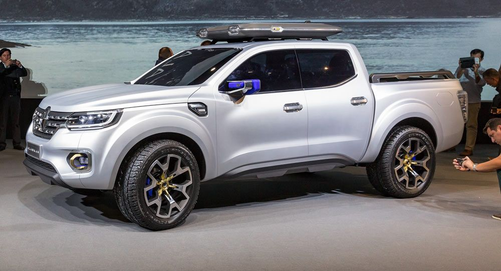 Renault To Unveil New Alaskan Pickup Truck On June 30 Carscoops Pickup Trucks Renault Trucks