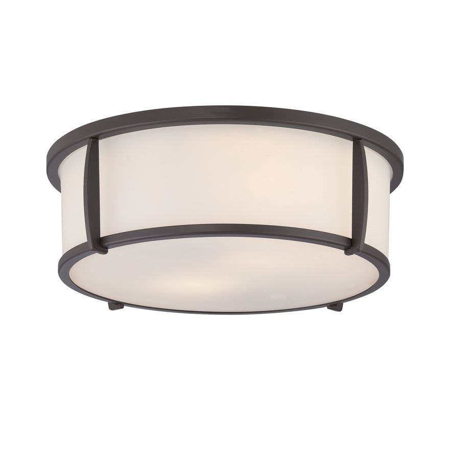 contemporary bathroom helius lighting. Helius Lighting. Allen + Roth 12.91-in W Oil-rubbed Bronze Standard Flush Contemporary Bathroom Lighting