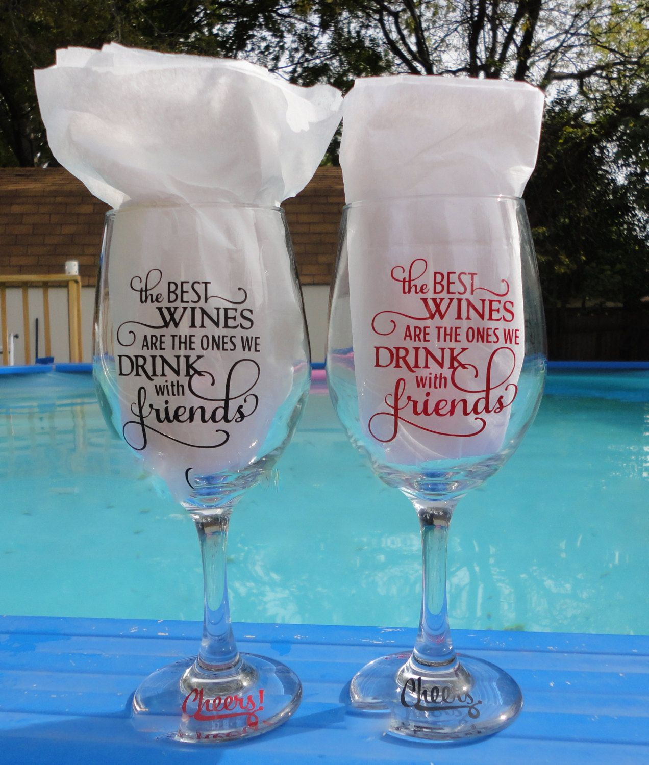 Wine Glass Ideas Wine Glass With Saying Wine Glasses With Vinyl Wine Gifts