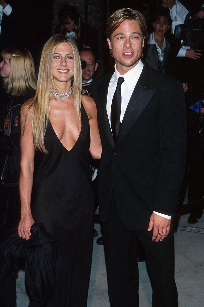 50 Reasons To Love Brad Pitt Jennifer Aniston Pictures Jennifer Aniston Brad And Jennifer
