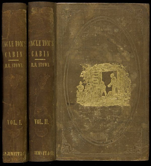 uncle tom s cabin vol i and ii first edition first printing  uncle tom s cabin vol i and ii first edition 1852 first printing published