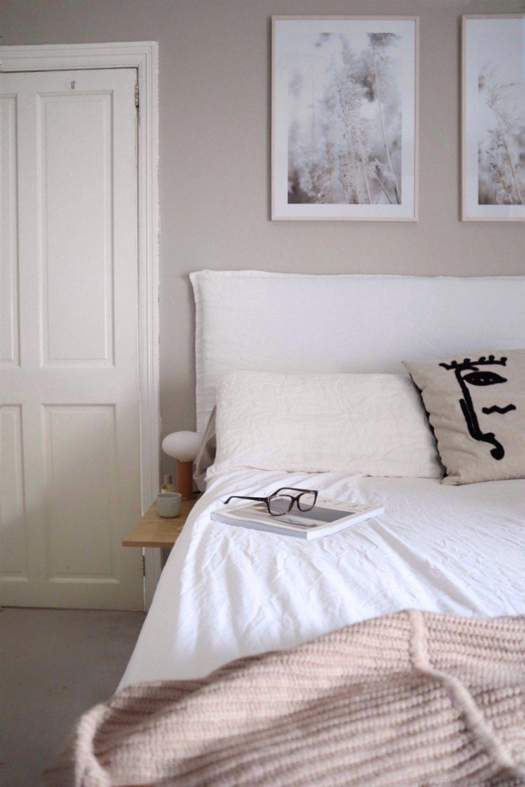 Diy Linen Headboard For Your Bedroom Create A Bespoke Simple Minimalist Headboard Linen Headboard Pillow Headboard Headboard Cover Linen headboard bedroom ideas