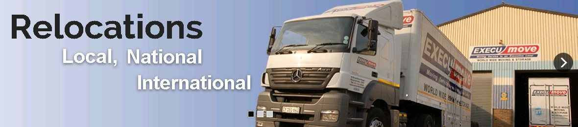 """Execu-move is a leading Furniture Removals company in South Africa, offering a full range of national & international moving services. Call us on 021 931 6999""""."""