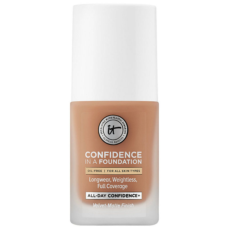 Beauty Blender Or Brush For Full Coverage: IT Cosmetics Confidence In A Foundation In 2019