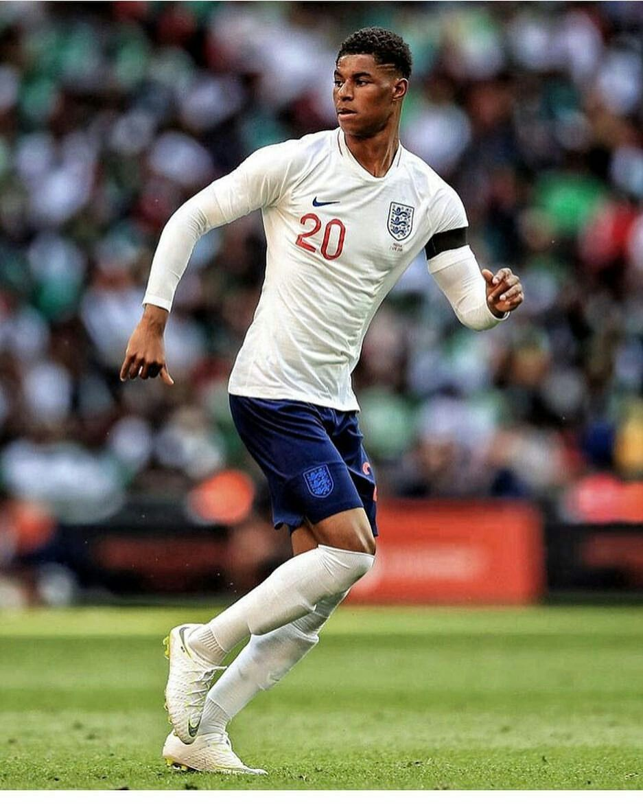 Marcus Rashford England Football Kit England Football Manchester United Football Club