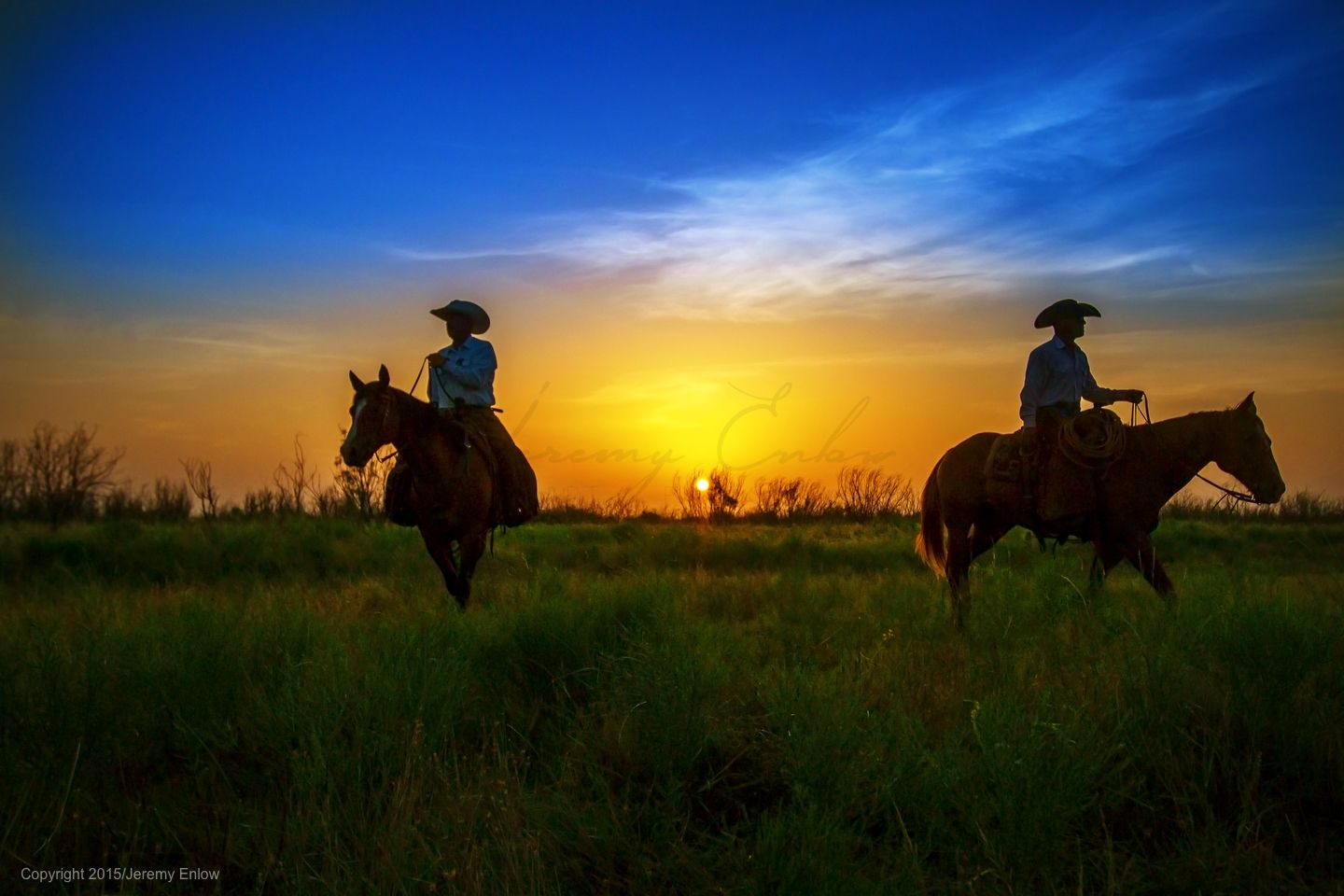 There's nothing like a Texas sky in the morning. | Waggoner Ranch photographed by Jeremy Enlow