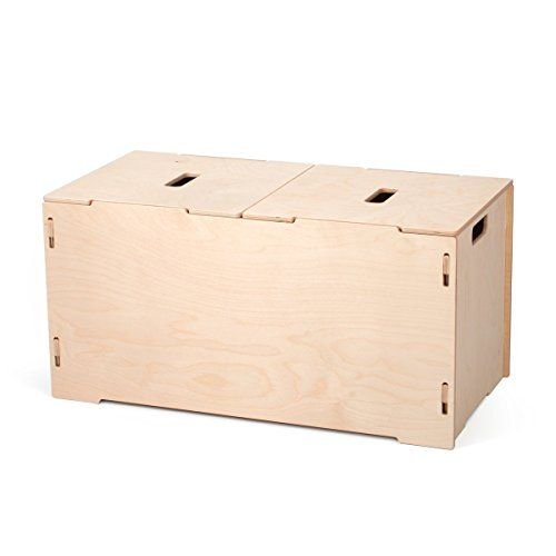 Large Kids Unfinished Wooden Toy Box With Lids American Https Www Amazon Com Dp B01mr89ckg Ref Cm Sw R Pi Wooden Toy Boxes Wooden Toy Chest Wood Toy Box