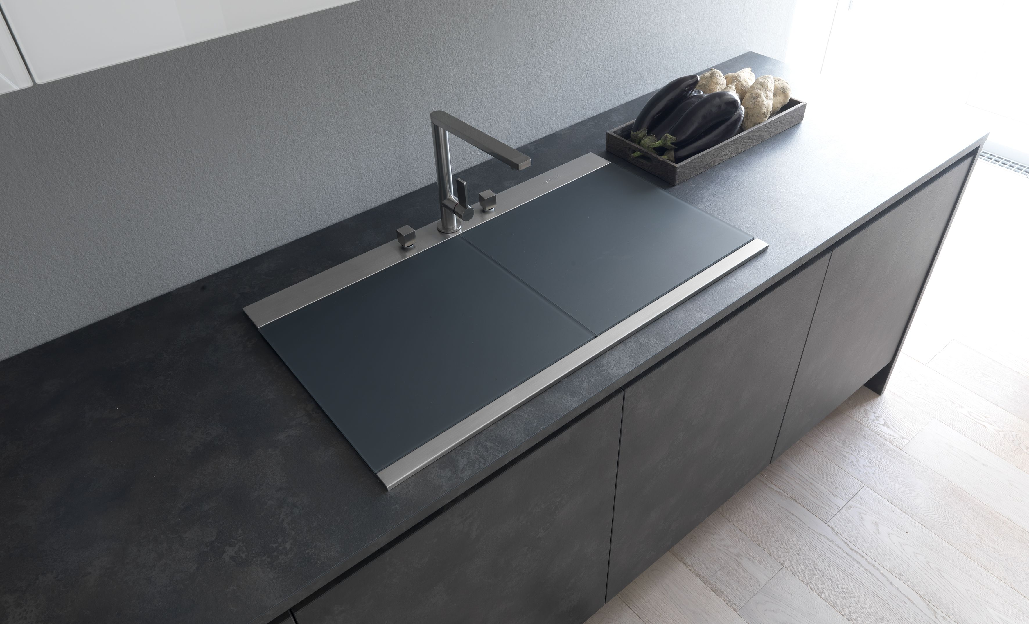 Best Modulnova Concept Line Kitchen Sink With Sliding Covers 400 x 300