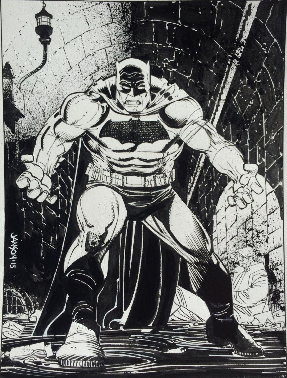 The Dark Knight Returns - Batman vs. The Joker by Klaus ...