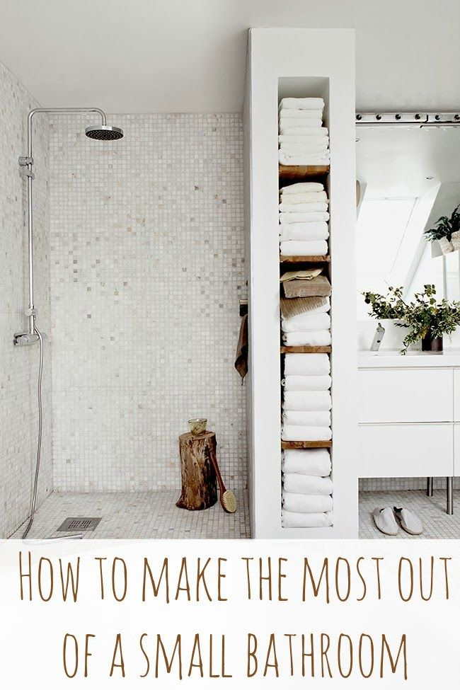 Make The Most Of Your Small Bathroom In 7 Steps