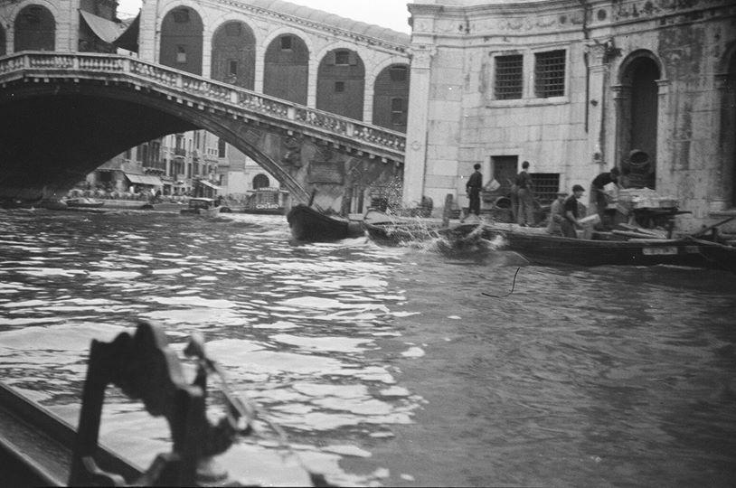 Rialto Bridge : 1938 Venice