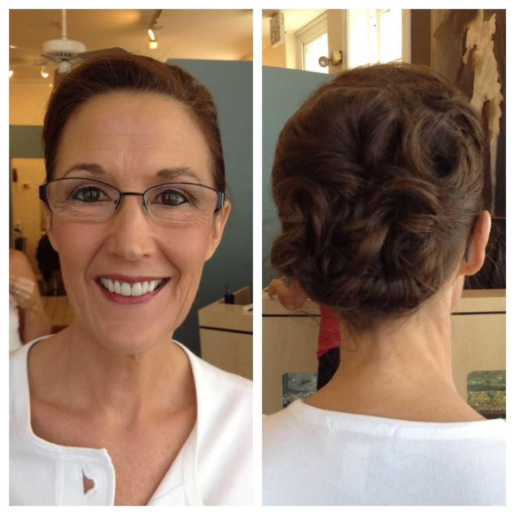 Beautiful Mother Of The Bride Hair And Makeup By Salon St Louis