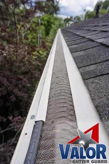 Valor Melt Away Gutter Guards Melt Snow Preventing Icedams Check Out Our Valor D Frost Gutter Guard And Find A D Gutter Guard Clogged Gutter Gutter Protection