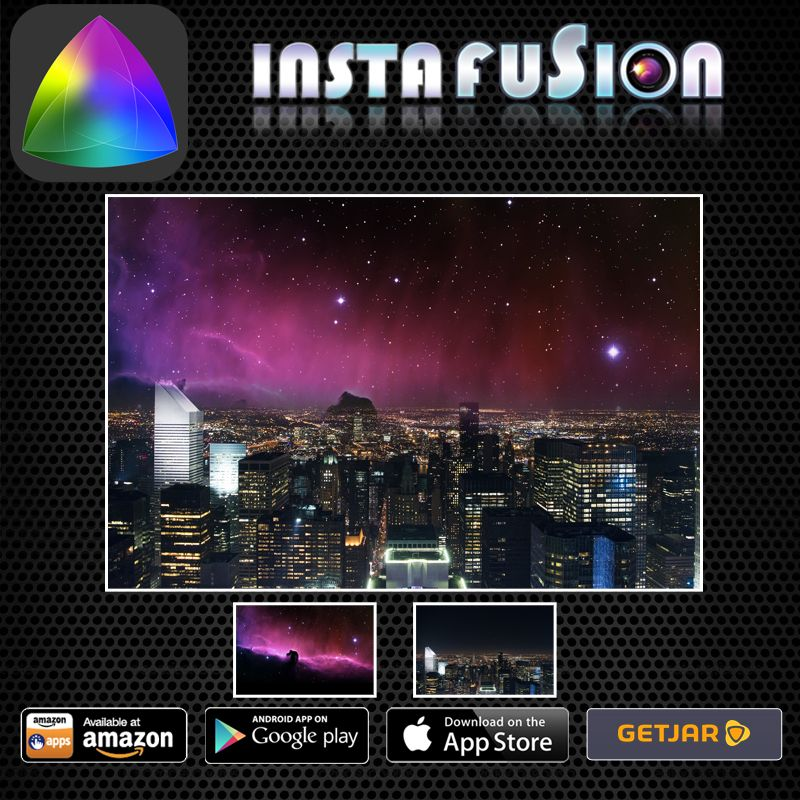Instafusion Photoblend free App For iPhone and iPad