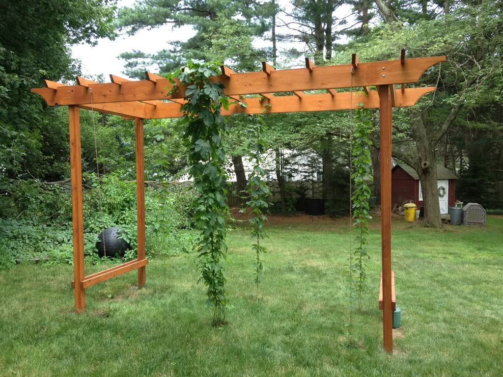 Home Trellis System Pergola Outdoor Pergola Backyard Plan 400 x 300