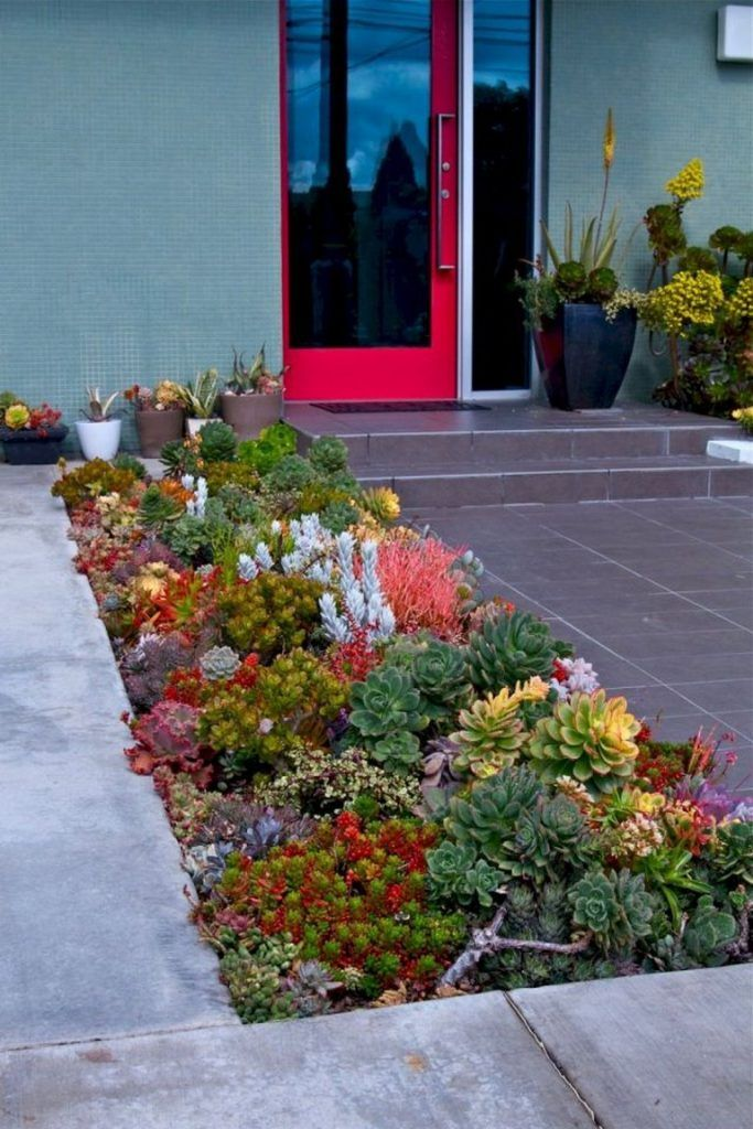 50+ Amazing Front Yard Rock Garden Ideas is part of Indoor Rock garden - Frequent rock garden plants grow naturally on high hills, where they will need to resist harsh conditions like intense sunlight, high winds, and drought  In reality, rock gardens are gaining popularity, since they may bring a modern component to landscaping… Continue Reading →