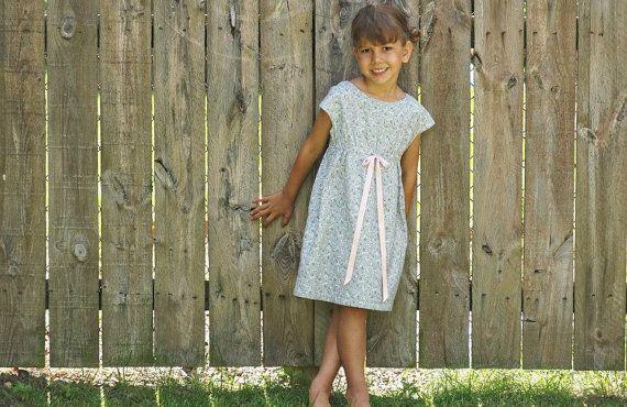 Little Friend-Handmade girl's dress on Etsy, $48.00