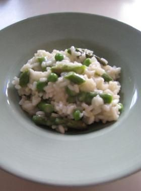 Asparagus and Pea Risotto - Fit Pregnancy