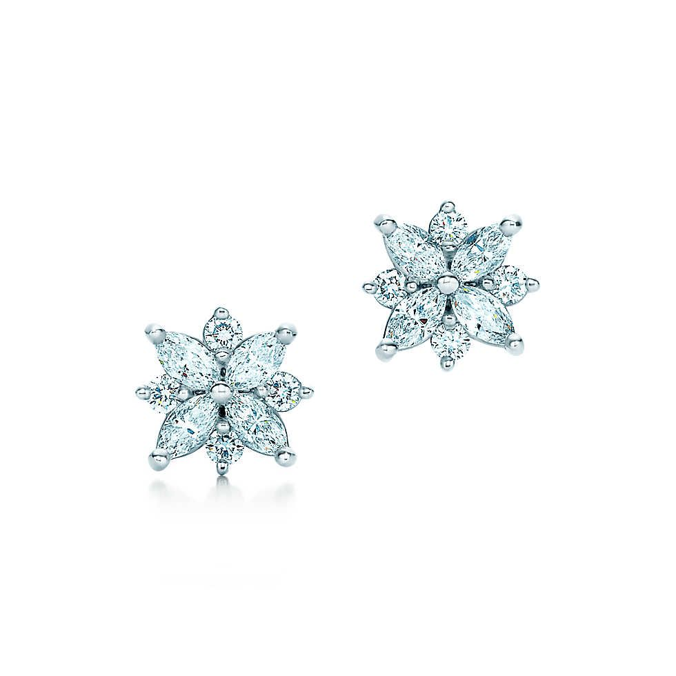 Tiffany victoriacluster earrings pinterest cluster earrings