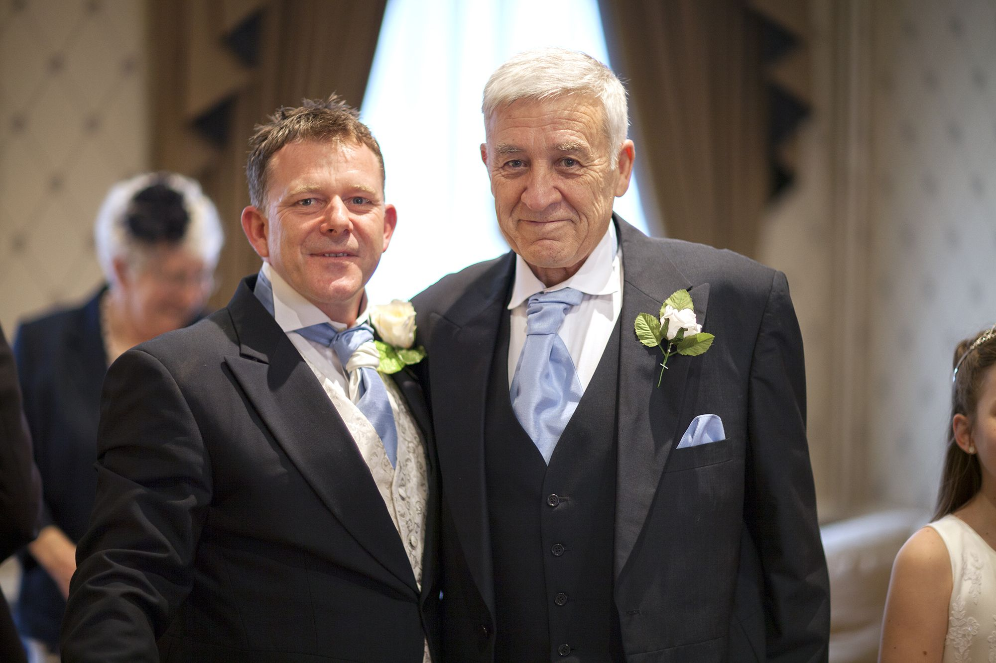 Groom And Father Of The Bride At Canterbury Registry Office Kent