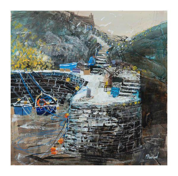 The Quay Boscastle. Mike Bernard