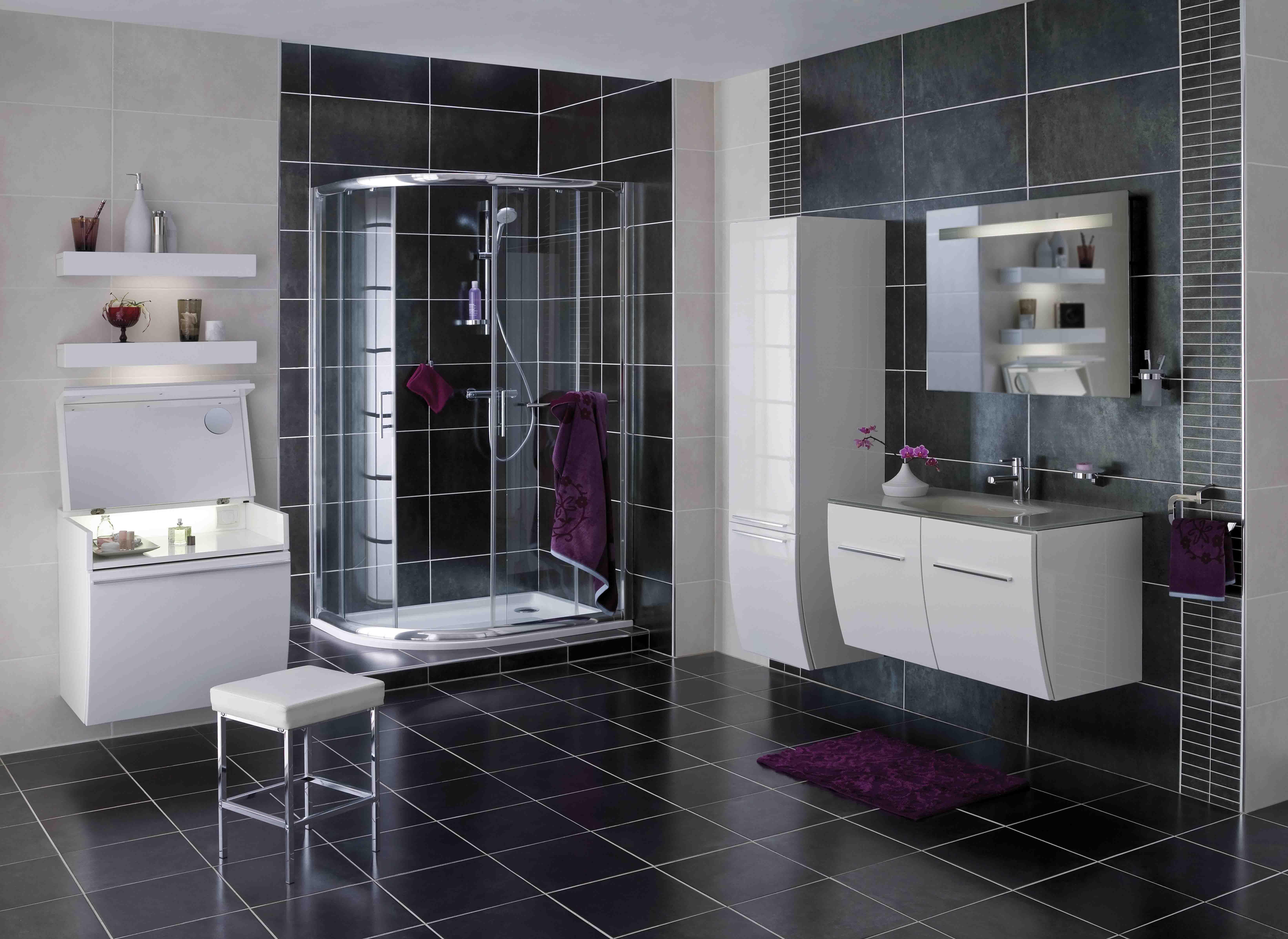 douche acc s d 39 angle mod le horizon. Black Bedroom Furniture Sets. Home Design Ideas