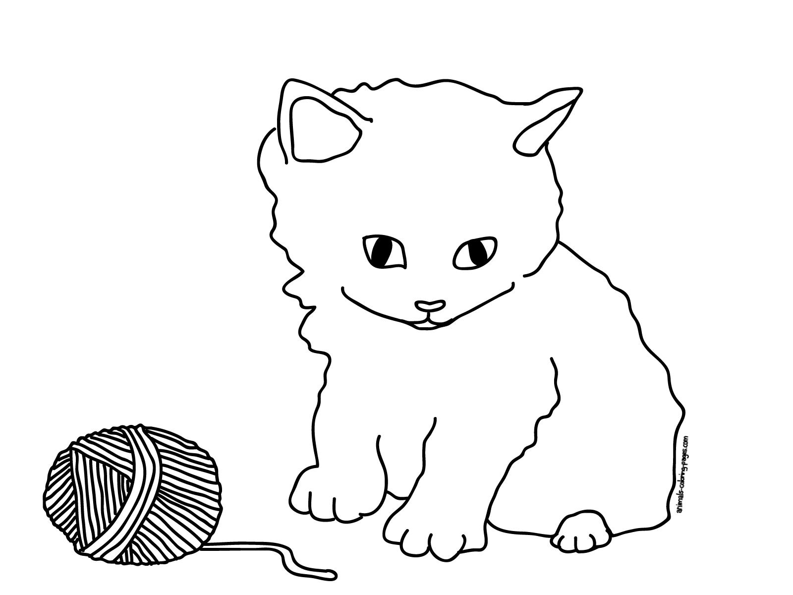 Excepcional Libro Para Colorear Hola Gatito Motivo - Dibujos Para ...
