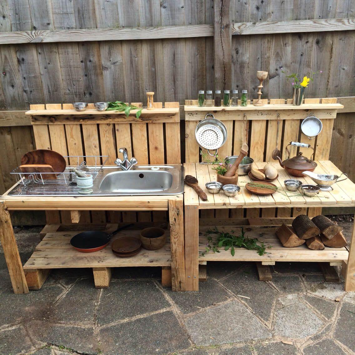 Ideas Geniales para las Cocinas al Aire Libre | Cocinas, Ideas y Palets