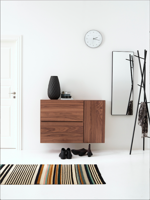 lugano wall mounted wall system by boconcept storage with style pinterest boconcept. Black Bedroom Furniture Sets. Home Design Ideas