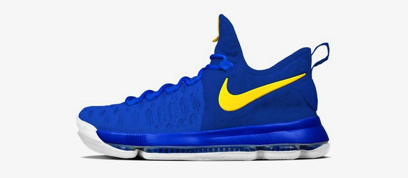 4ee8a2d03b9 Nikeid Kevin Durant KD 9 Dub Nation Warriors Away Discount