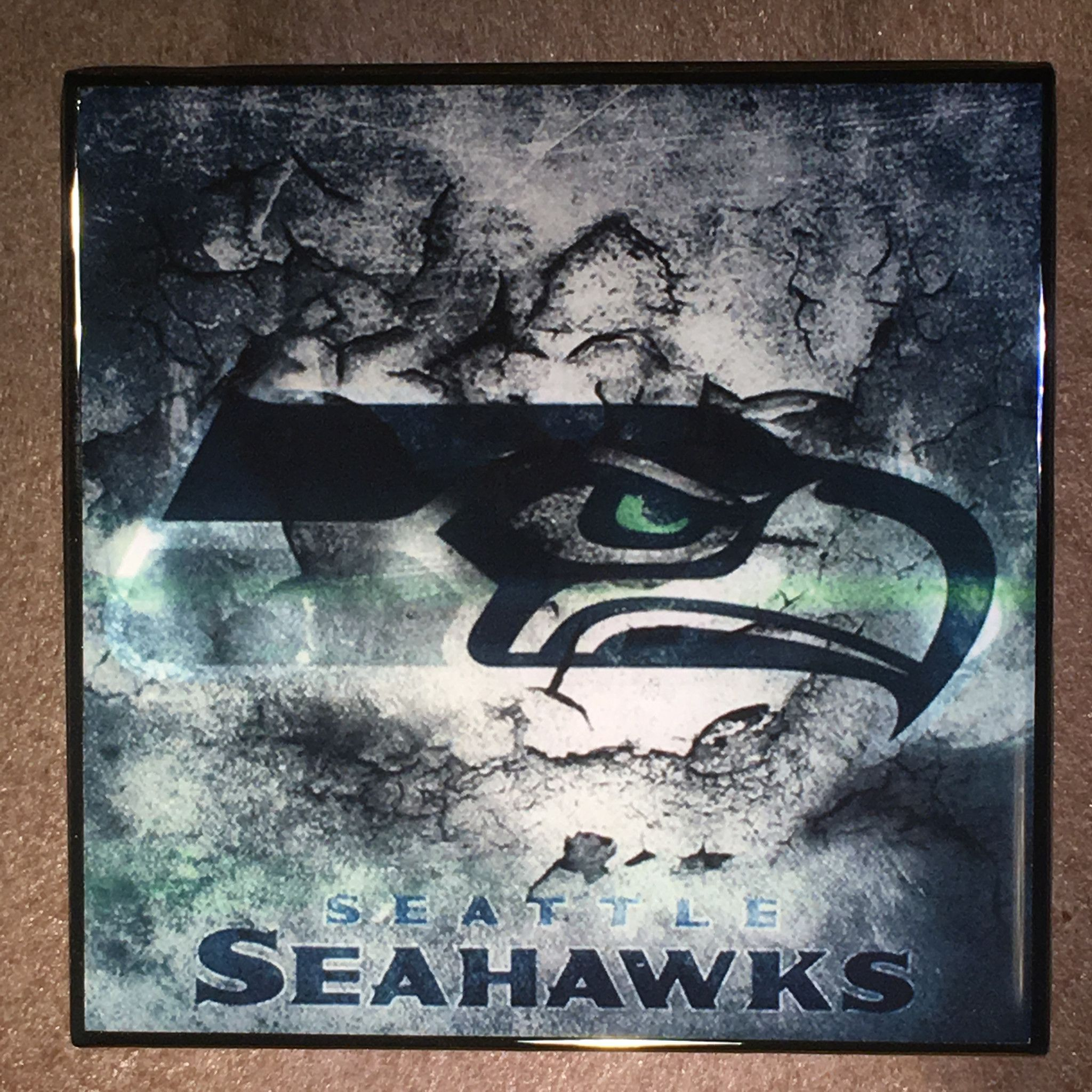 Seattle seahawks coaster nfl ceramic tile football coasters seattle seahawks coaster nfl ceramic tile football dailygadgetfo Gallery