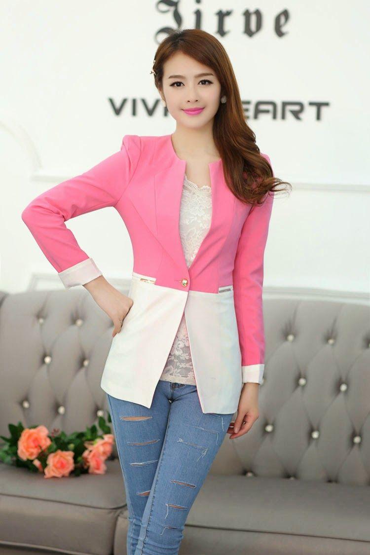 El blazer es una prenda bastante versátil. En Corea del Sur las ...