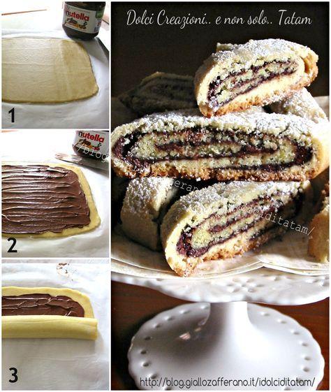 Ricetta torta di pasta frolla con nutella