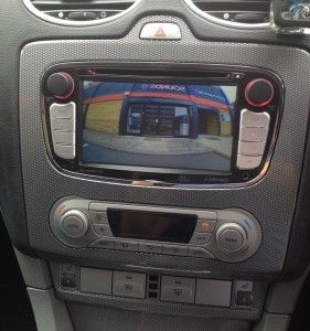 Ford Focus 2008 Zenec Ze Nc3811d And Pioneer Nd Bc6 Reverse Camera Ford Focus 2008 Ford Focus Focus 2008